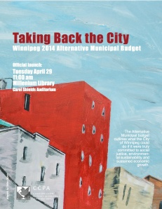Winnipeg Alternative Budget poster FINAL