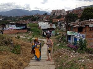 Lynne in Medellin