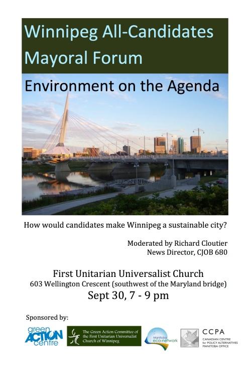Mayoral environment debate